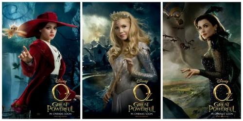 Theodora, Glinda, Evanora Foto: facebook.com