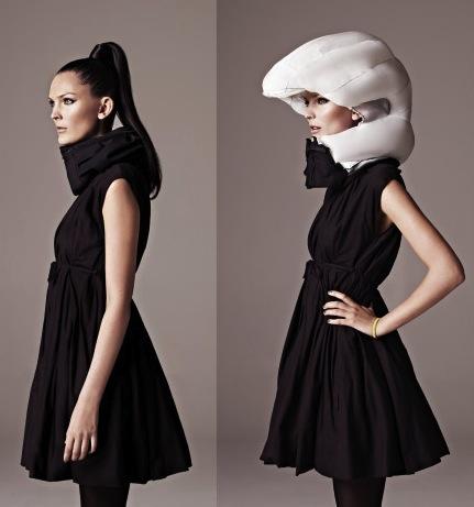 Neviditelná helma se bude náramně hodit převážně ženám, které nechtějí riskovat zbytečně svůj účes. http://www.mynewsdesk.com/uk/hovding