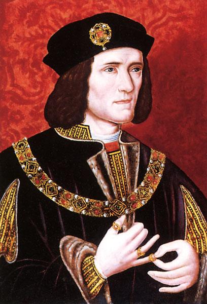 Richard III. (1452–1485) vládl pouze tři roky