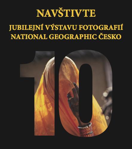 Jubilejní výstava fotek National Geographic